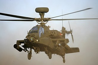 Army Air Corps (United Kingdom) - Image: Apache WAH64D Helicopter MOD 45149194