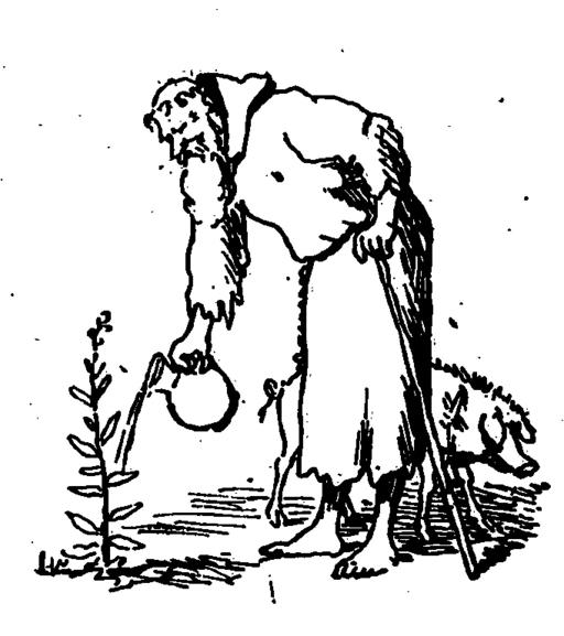 Arène - La vraie tentation du grand Saint Antoine - contes de Noël, 1880, illust 09