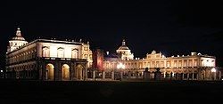 Palace of Aranjuez at night
