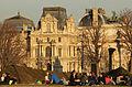 Arc de Triomphe du Carrousel and Louvre, Paris 8 March 2015.jpg
