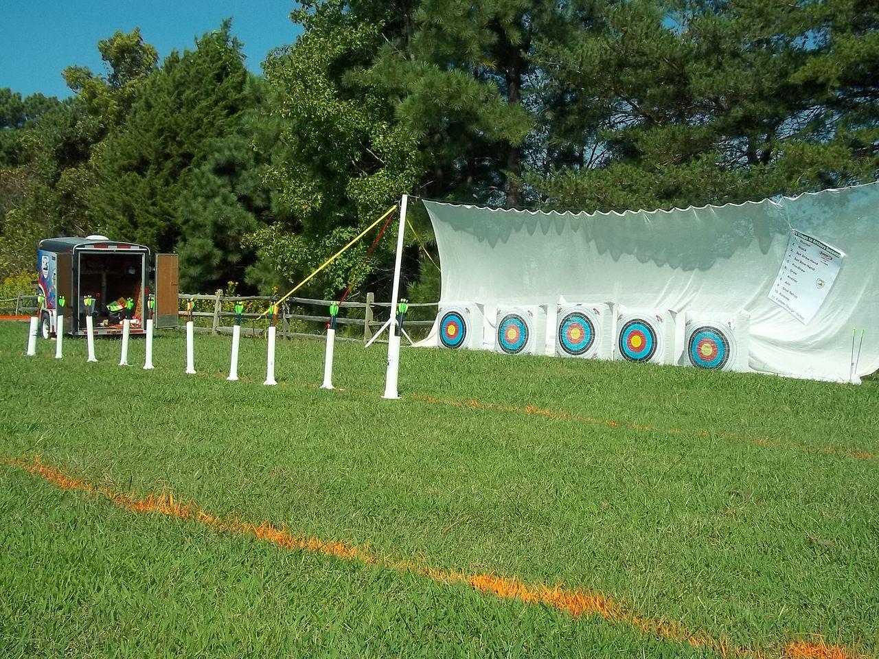 Indoor Outdoor House File Archery Range 8019644987 Jpg Wikimedia Commons