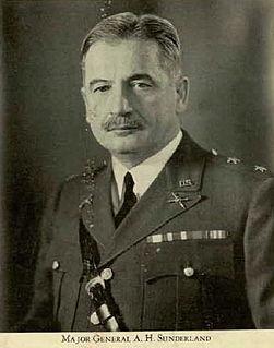 Archibald H. Sunderland United States Army general