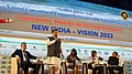 Arjun Ram Meghwal at a panel discussion - 'NEW INDIA- VISION 2022', at the Golden Jubilee Year National Convention of Institute of Company Secretaries of India (ICSI), in Thiruvananthapuram, Kerala (1).jpg