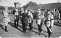 Armia polska we Francji - gen Archinard dekoruje polskich oficerów NAC 1-H-256-3.jpg