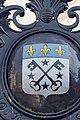 Armoiries sur le portail de l'hôtel de ville (Lisieux, Calvados, France).jpg