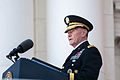 Army Gen. Martin E. Dempsey, chairman of the Joint Chiefs of Staff, delivers a Memorial Day address at Arlington National Cemetery in Arlington, Va., May 25, 2015 150525-D-KC128-188A.jpg