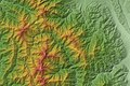 Around Mount Kitadake Relief Map, SRTM-1.jpg