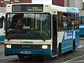 Arriva bus 1551 MAN Optare L551 GHN in Middlesbrough bus station 5 May 2009.JPG
