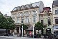 Art nouveau building on the Main Street, Kosice, 2018-05.jpg
