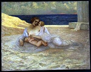 Mario Bettinelli - Maternità, 1921 (Art collections of Fondazione Cariplo)