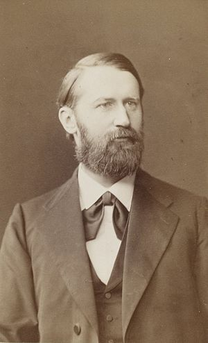 Arthur Auwers - Auwers in 1884