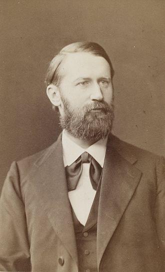 Arthur Auwers - Arthur Auwers in 1884
