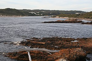 Arthur River (Tasmania) - The mouth of the Arthur River