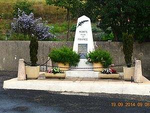 Artigues, Aude - Artigues War Memorial