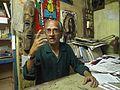 Artist Vamona Navelcar, in Goa, India.2.JPG