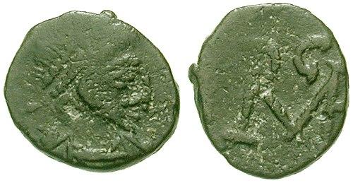 As Libius Severus-Ricimer MonogramRIC 2716