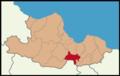 Asarcık District Location in Samsun Province.png