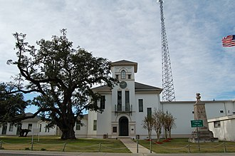National Register of Historic Places listings in Assumption Parish, Louisiana - Image: Assumption Courthouse