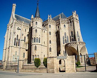 Astorga, Spain - Episcopal Palace of Astorga