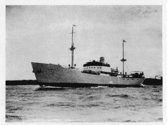Lindholmens - Astri, the first motor ship
