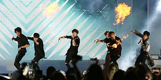 Infinite (band) - At 2015 summer K-Pop festival