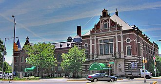 Ratskeller - The former Das Deutsche Haus in Indianapolis, today known as the Athenaeum, has served Bavarian fare since 1894