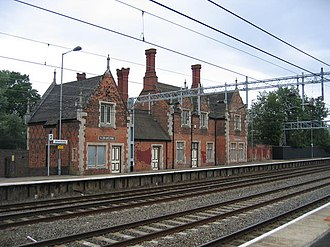 Atherstone - Atherstone railway station.