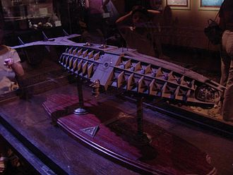 Atlantis: The Lost Empire - Scale model of Ulysses submarine by Greg Aronowitz, used by digital animators as reference during production.