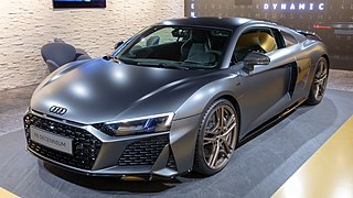 Second generation of the R8 sports car manufactured by German automobile manufacturer Audi