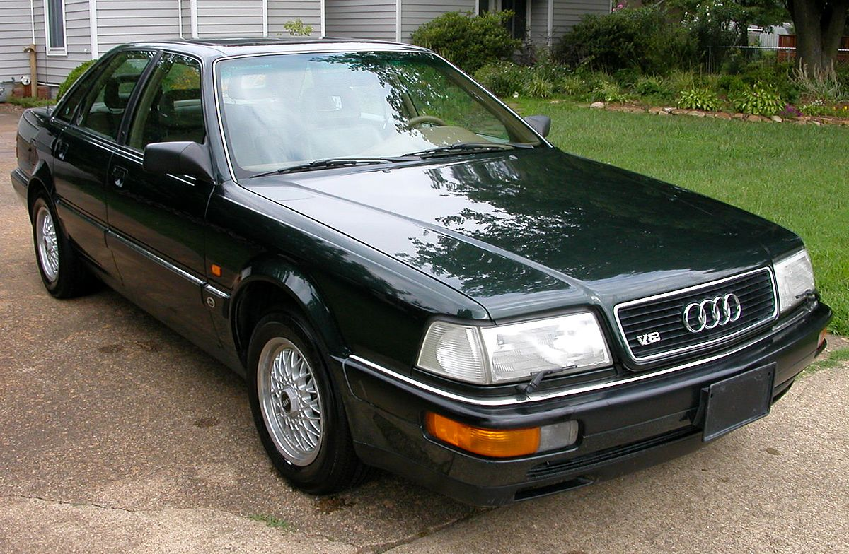 audi v8 wikipedia rh en wikipedia org 1993 Audi 100 Resale Values Audi 100 Wagon