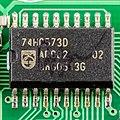 Auerswald COMfort 2000 Base - controller - Philips 74HC573D-0244.jpg