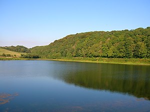 Dundonald, South Ayrshire - Aught Woods and Collennan Reservoir.