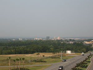 Augusta, Georgia - The Augusta skyline, as seen from North Augusta, South Carolina