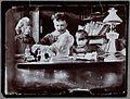 August Strindberg with children (8719285295).jpg