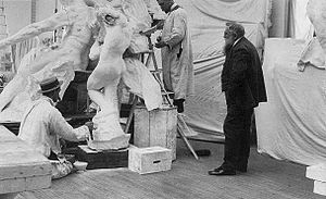 New Poems - Rodin in the studio, 1905