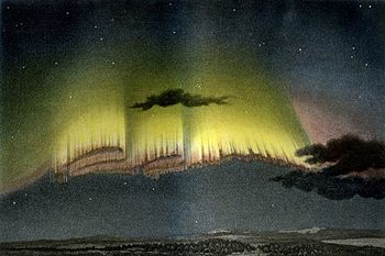 English: An Aurora Borealis observed at Bossek...