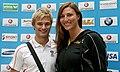 Austrian Olympic Team 2012 a Mirna Jukic, Ludwig Paischer.jpg