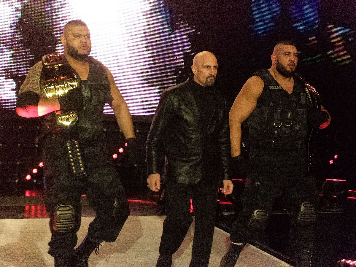 WWE NXT Superstars Authors of Pain