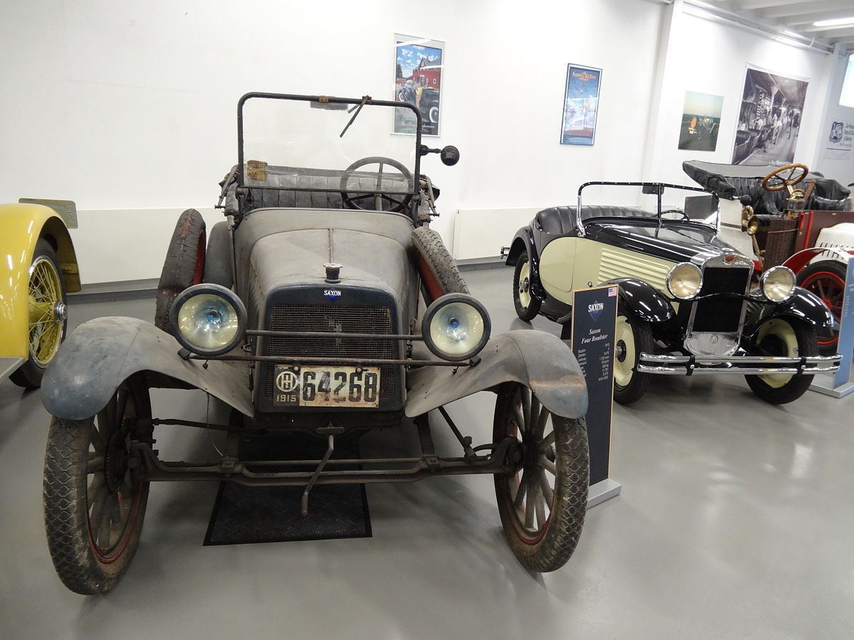 First Ford Car Using Assembly Line