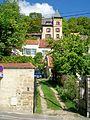 Auvers-sur-Oise (95), Chaponval, demeure rue Simone-le-Danois, depuis la rue de Pontoise.jpg