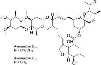 Abamectin - Image: Avermectins