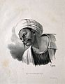 Averroes. Lithograph by P. R. Vignéron, 1825. Wellcome V0000251.jpg