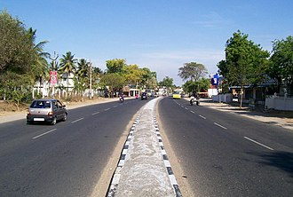 Palladam - Image: Avinashi Tirupur Palladam SH