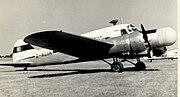 Avro Anson 11 G-ALIH Ecko Electronics Blackbushe 1955