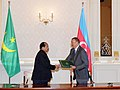 Azerbaijan-Mauritania documents signed, 2010 03.jpg