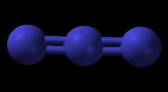 Ammonium azide - Image: Azide 3D balls