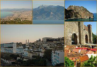 Béjaïa City in Bejaia Province, Algeria