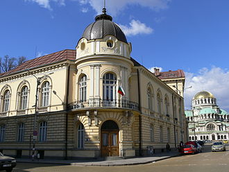 Science and technology in Bulgaria - The headquarters of the Bulgarian Academy of Sciences in Sofia