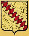 BLASON LA ROUAUDIERE - Armoiries de la famille de la Jaille, seigneurs de la Rouaudière.jpg