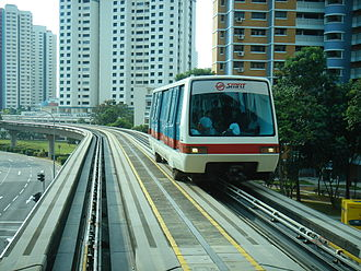 Bukit Panjang LRT line - Image: BPLRT Ext Mid CX100